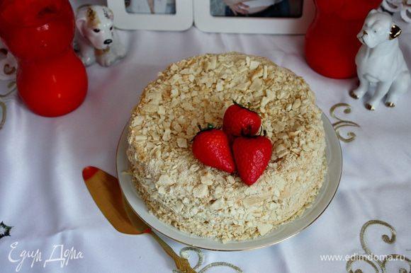 """А еще на днях я пекла """"Невесту Наполеона"""" от Ниночки http://www.edimdoma.ru/retsepty/50360-tort-nevesta-napoleona...Такой вкусный тортик, крем фантастический просто!!!"""