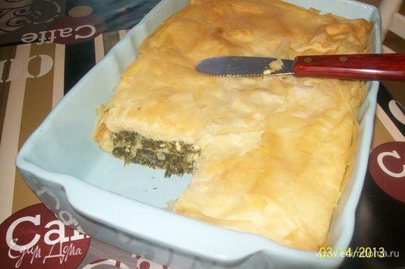 Ну вот...теперь и опробовать можно... Как сказал мой муж - это блюдо одинаково хорошо и для обеда, и для ужина... отлично сочетается с простым зелёным салатом.