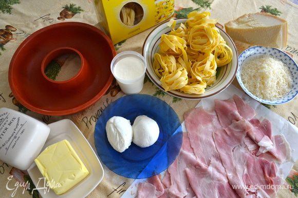 Продукты, которые нам понадобятся для приготовления этого блюда.