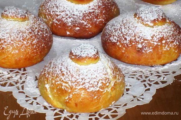 сахарные булочки в духовке рецепт с фото