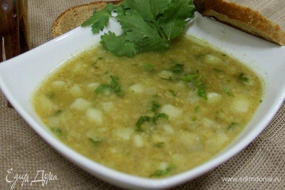 Вот наш суп и готов!