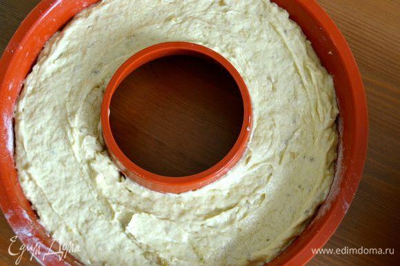 Выровнять поверхность кольца.