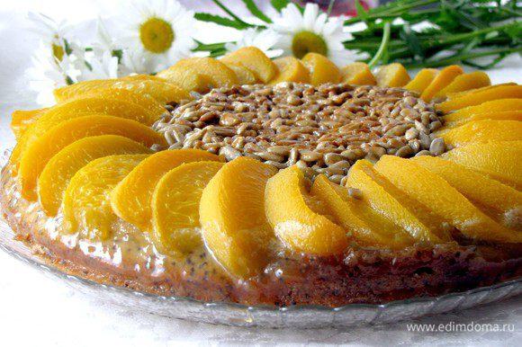 Вынимаем пирог из формы, наливаем чай и наслаждаемся.))))) Приятного аппетита!
