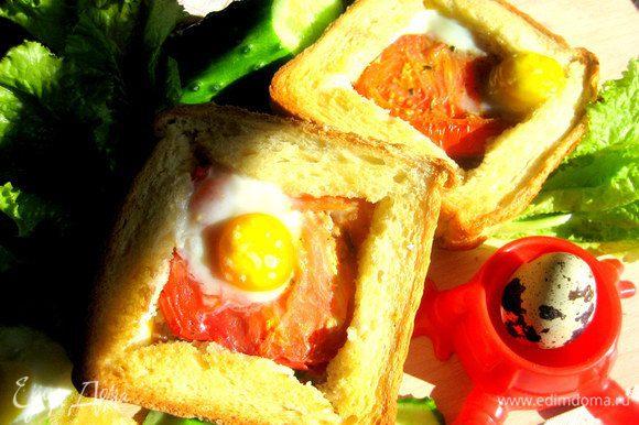 Вот и готовы наши сэндвичи!