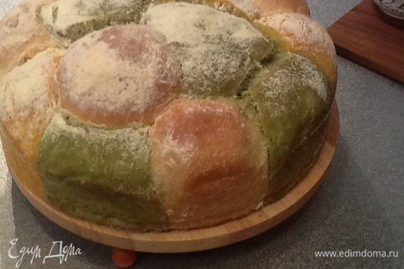 """В главной роли этого хлеба выступала французская тыква сорта """"Хеллуин""""."""