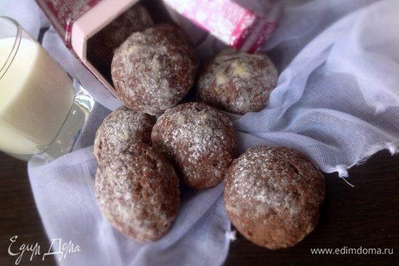 Остывшее печенье подавать к столу с молоком, чаем или кофе. Приятного аппетита!!!:)