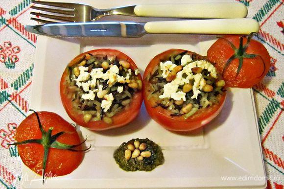 Наслаждайтесь вкусным и полезным блюдом! Приятного вам аппетита!