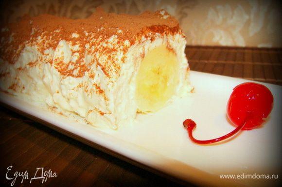 Получился вкусный и полезный десерт! Прекрасно подойдет на завтрак или ужин!