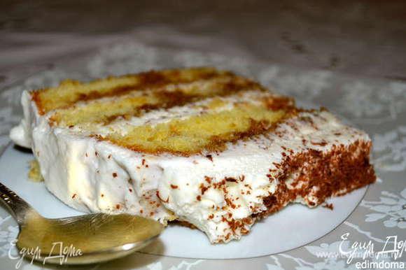 """А если кому будет интересно, у меня был еще рецепт вот такого вкусного """"Тирамису по-американски""""! ;)) http://www.edimdoma.ru/retsepty/54643-tort-tiramisu-po-amerikanski"""