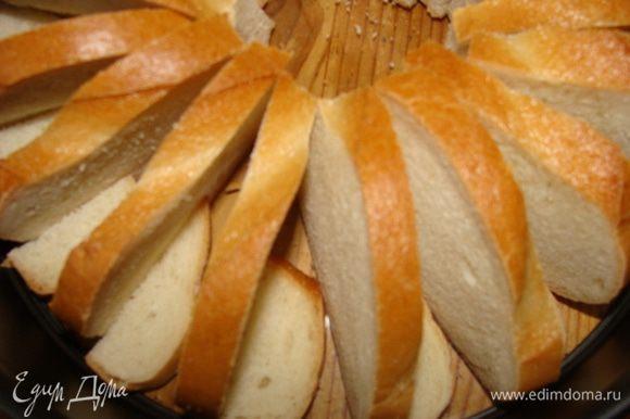 Я не люблю ничего выбрасывать, остаткам хлеба тоже нашла место.