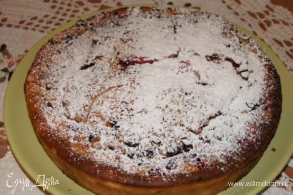 Готовый пирог остудить и подавать!!!