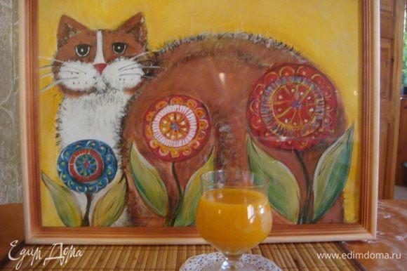 Приятного Аппетита!!! Второй план от меня вам - для души)) Кот - на счастье.