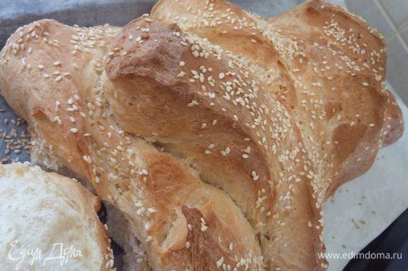 Очень хочу порекомендовать, просто волшебный хлебушек. Хлеб на простокваше с медом от Натали М http://www.edimdoma.ru/retsepty/67642-hleb-na-prostokvashe-s-medom Какой же он вкусный, восхитительный хлеб!