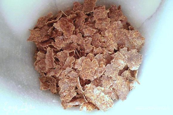 Вместо льняного семени я использовала льняной жмых. Это остатки, которые остаются после того, как изо льна выдавили масло.