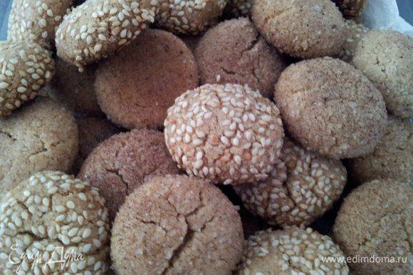 А вот и готовое печенье :)