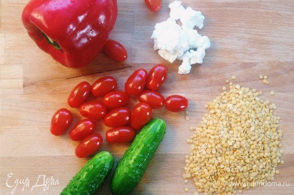 Подготавливаем основные ингредиенты:)