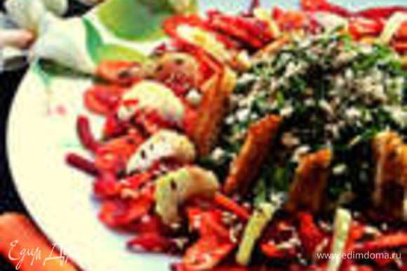 Пожалуй завершу обзор салатиком: http://www.edimdoma.ru/retsepty/73969-salat-ovoschnoe-koltso-s-pikantnym-tvorogom
