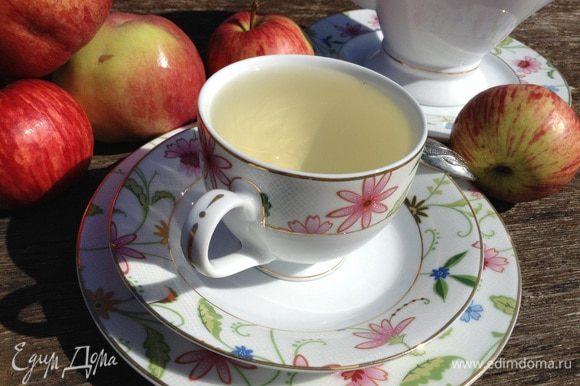 Разлить по чашкам и наслаждаться полезным напитком.