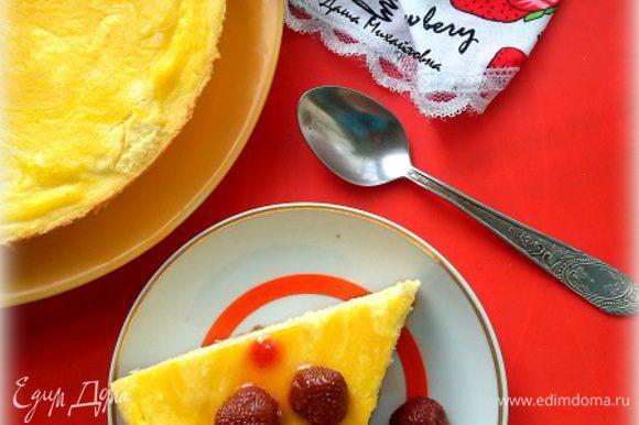 Вкусный творожный завтрак готов!