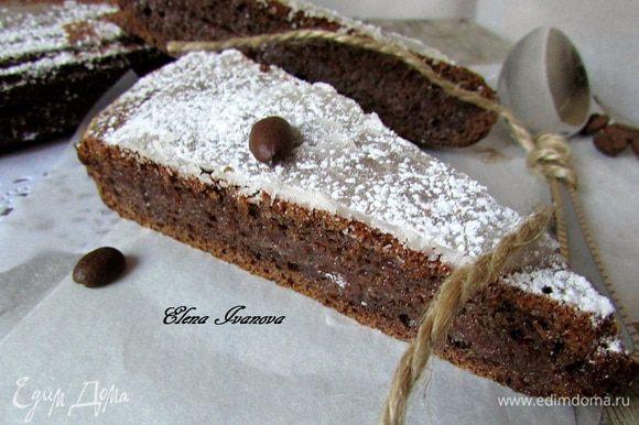 Глазурь вылить на торт. Украсить по своему желанию (можно и не украшать, он и так хорош). Нарезать на кусочки и наслаждаться!!!