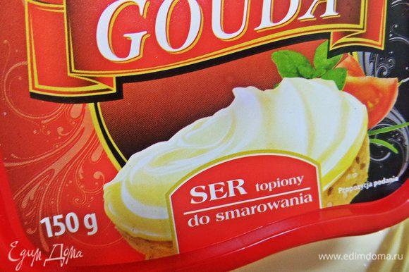 У меня был в холодильнике сыр Гауда, но это не принципиально, дело вкуса.
