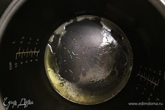 Растопите сливочное масло (я растапливала на режиме поджаривание 2-3 минуты).