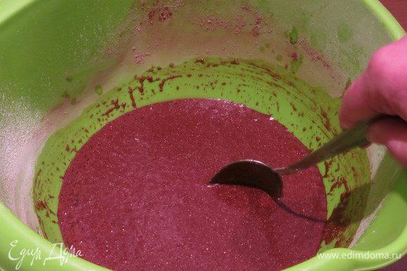 Вливаем жидкость в сухую смесь, даем настоятся 30 минут.