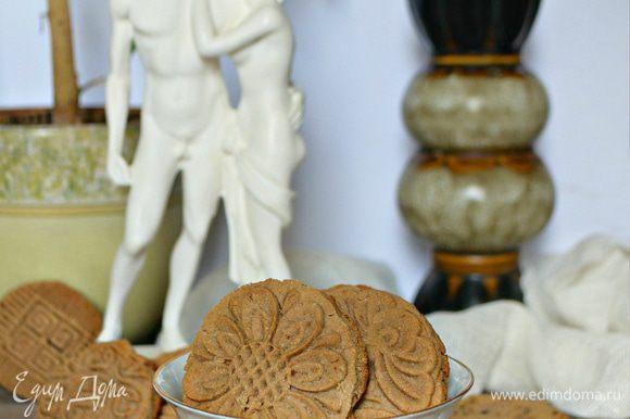 Готовому печенью дайте остыть. Вкусное полезное постное и диетическое печенье готово! Приятного вам аппетита!