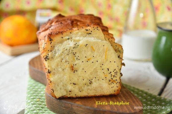 Сладкий хлеб-гармошка готов! Отщипните кусочек, угощайтесь!