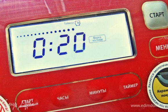 """Можно запечь в духовке, но летом в жару удобно в мультиварке. Программа """"на пару"""". Не забываем наполнить чашу литром воды!"""