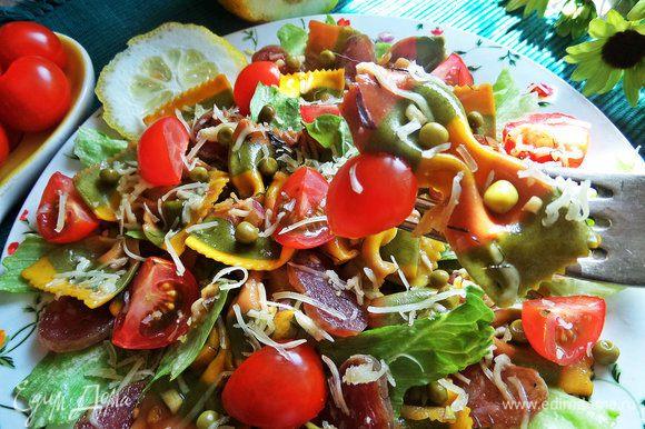 Угощаемся сытным блюдом с овощами!