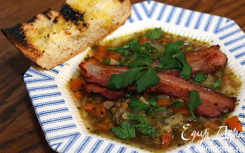 Рецепт Суп из чечевицы с сельдереем
