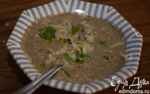 Рецепт Суп из брокколи с грибами