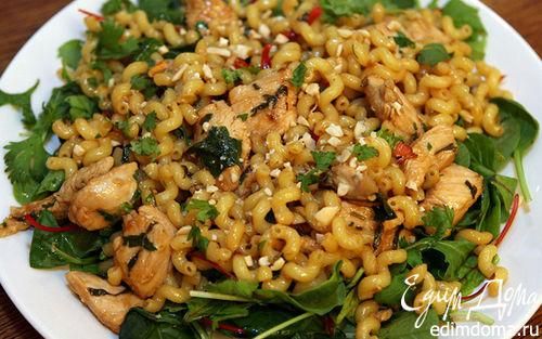 Рецепт Восточный салат с курицей