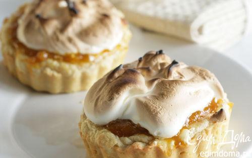 Рецепт Тыквенный пирог с меренгами