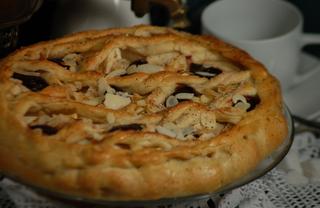 Рецепт Пирог с яблоками (постный)