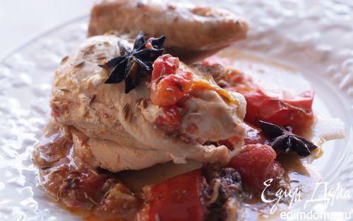 Рецепт Цыпленок в пряностях