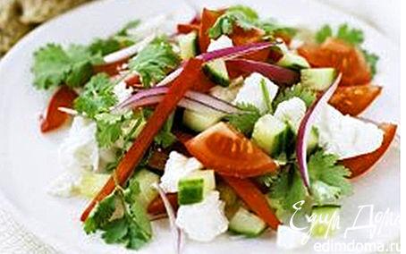 Рецепт Салат «Хорьятики» с сыром фета
