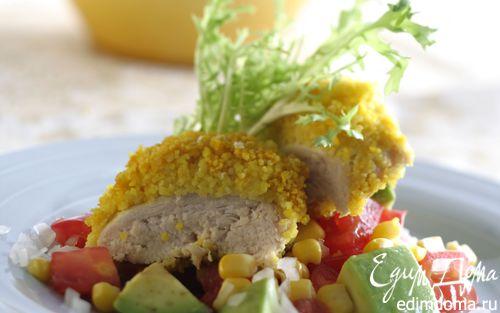 Рецепт Пряная курица с кускусом