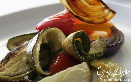 Рецепт Салат из средиземноморских запеченных овощей