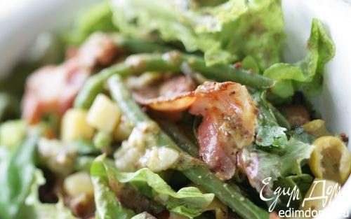 Рецепт Салат со стручковой фасолью