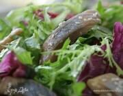 Салат с сельдью по-восточному