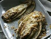 Цикорий, запеченный с сыром