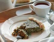 Пирог со шпинатом и щавелем