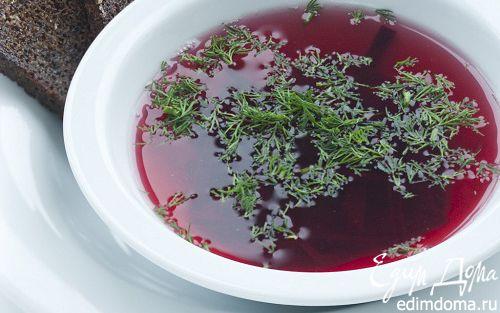 Рецепт Борщ из запеченной свеклы