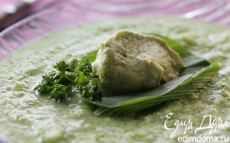 Рецепт Холодный суп из свежих огурцов или помидоров