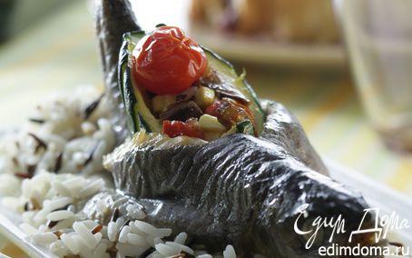 Рецепт Форель, запеченная с овощами