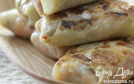 Рецепт Голубцы с орехами и домашним сыром