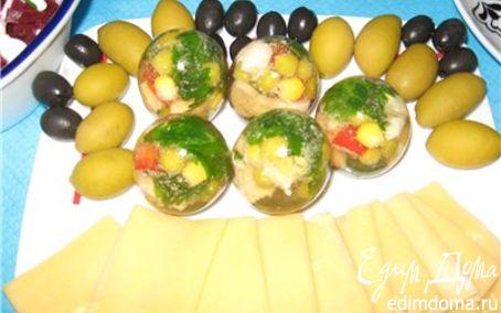 Рецепт Яйца заливные