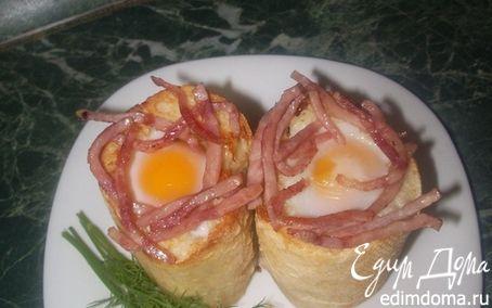 Рецепт Завтрак в багетах